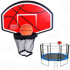 Trampoline Basketball Stand Attachment