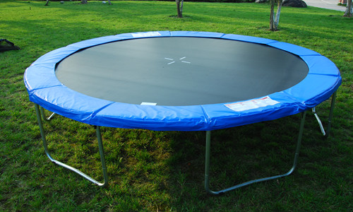 10 Feet Big Trampoline With Enclosure Net