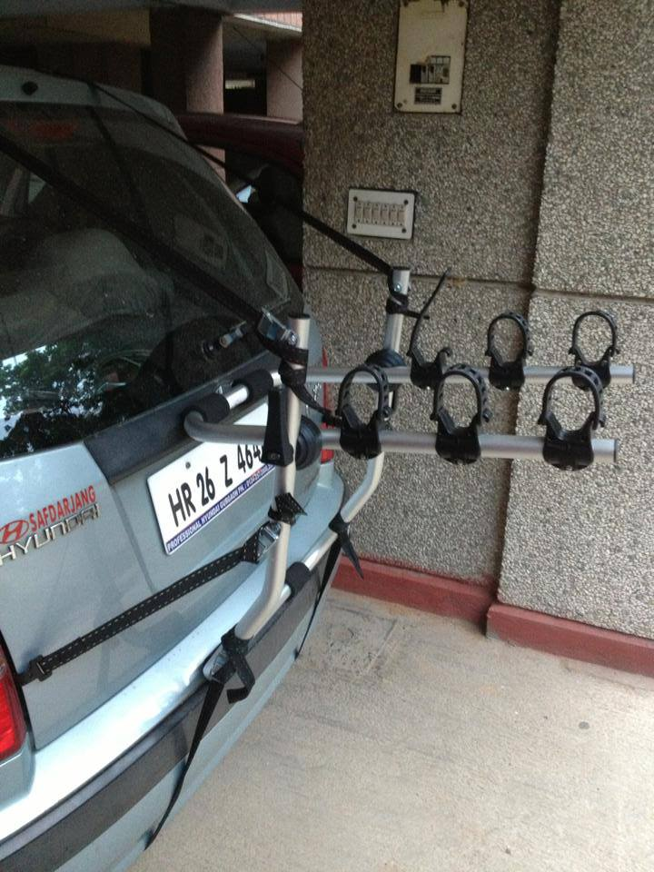 Hyndai-Santro-BikerZ-Car-Bike-Rack