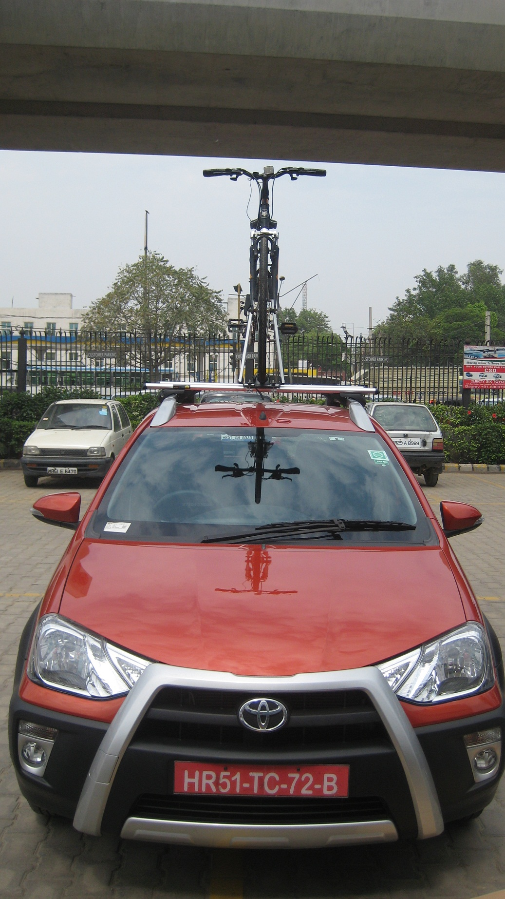 Toyota-Etios-Cross-BikerZ-Car-Bike-Rack