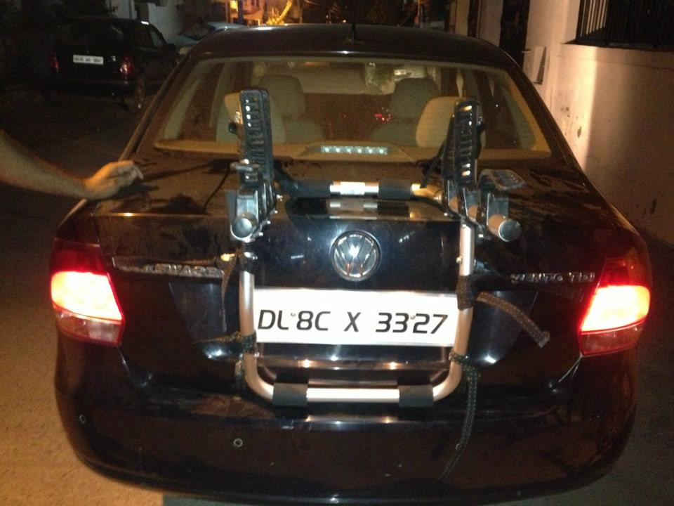 VolksWagon-Vento-Car-Bicycle-Carrier