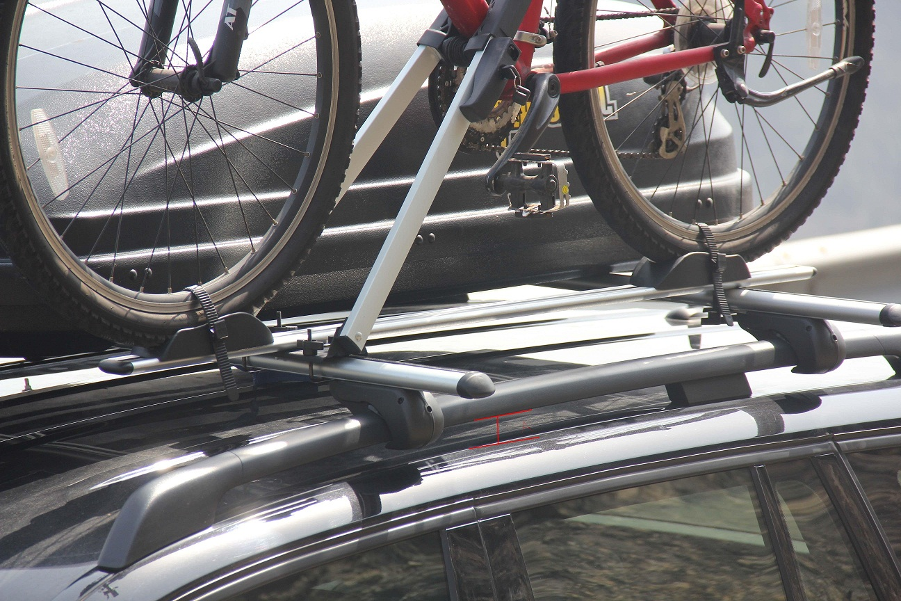 BikerZ bicycle roof carrier