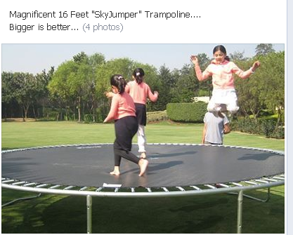 Customer Review YouLoveTrampoline