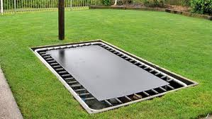 Multiple Sizes In Ground Trampolines