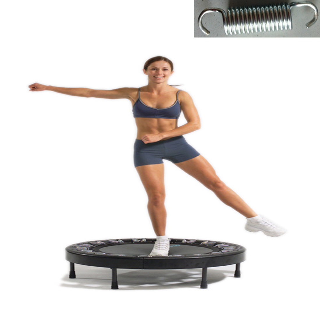 Rebounder Or Trampoline For Excercise And Fun 40 Inch Mini