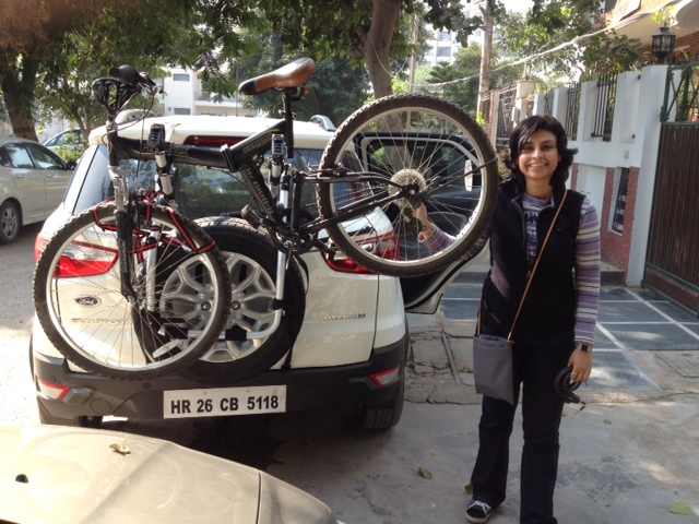 Car Bicycle Carrier For Ford Ecosport