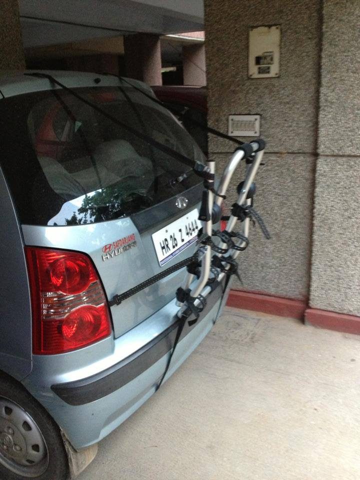 Car Bicycle Carrier For Hyundai Santro